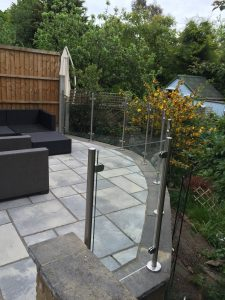 glass balustrade railing hertfordshire