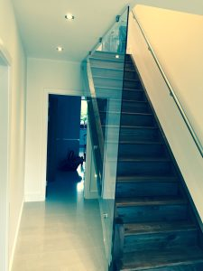 staircase glass balustrade hertfordshire