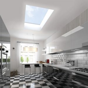 Flat roof skylight hertford
