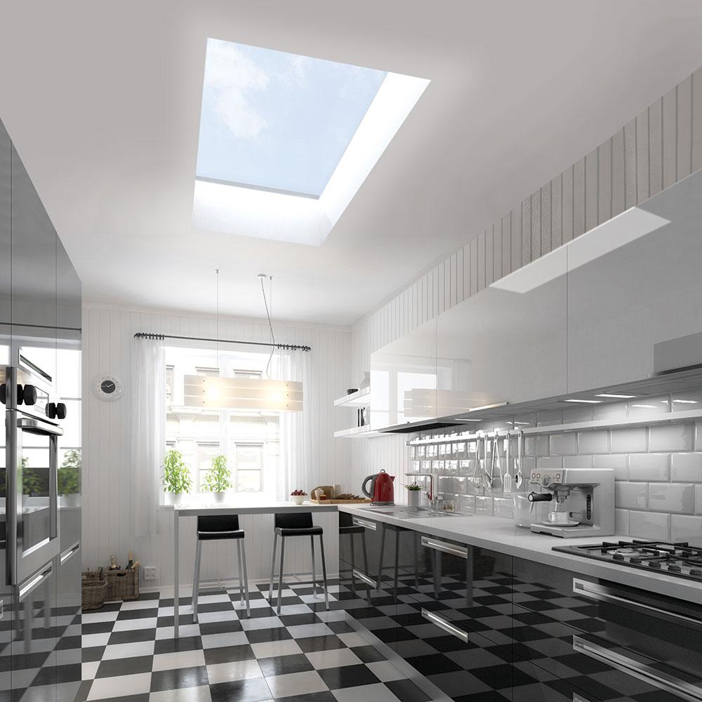 Flat roof skylight hertford