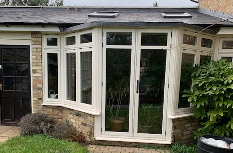 Dane End Cottage Ware R9 french doors