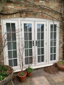 Dane End Cottage Ware R9 bi-fold doors