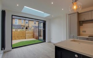 Bifold doors rooflight hertford