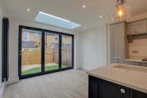 bi-fold doors skylight hertford